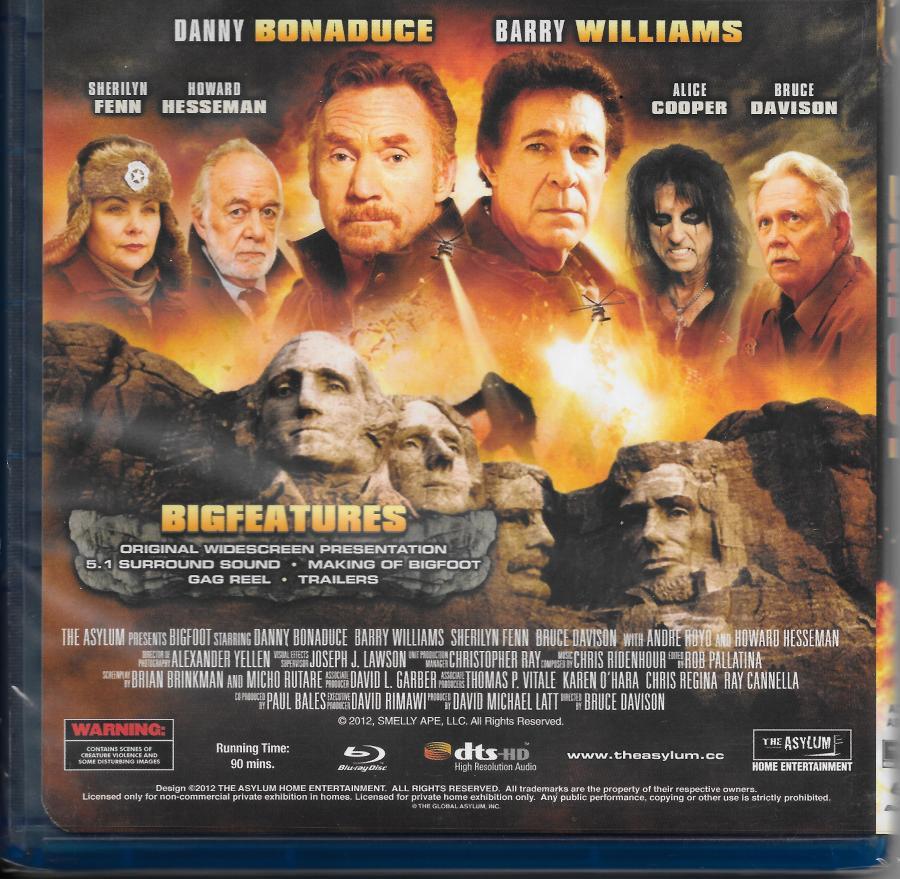 Bigfoot - dvd backing (cut)