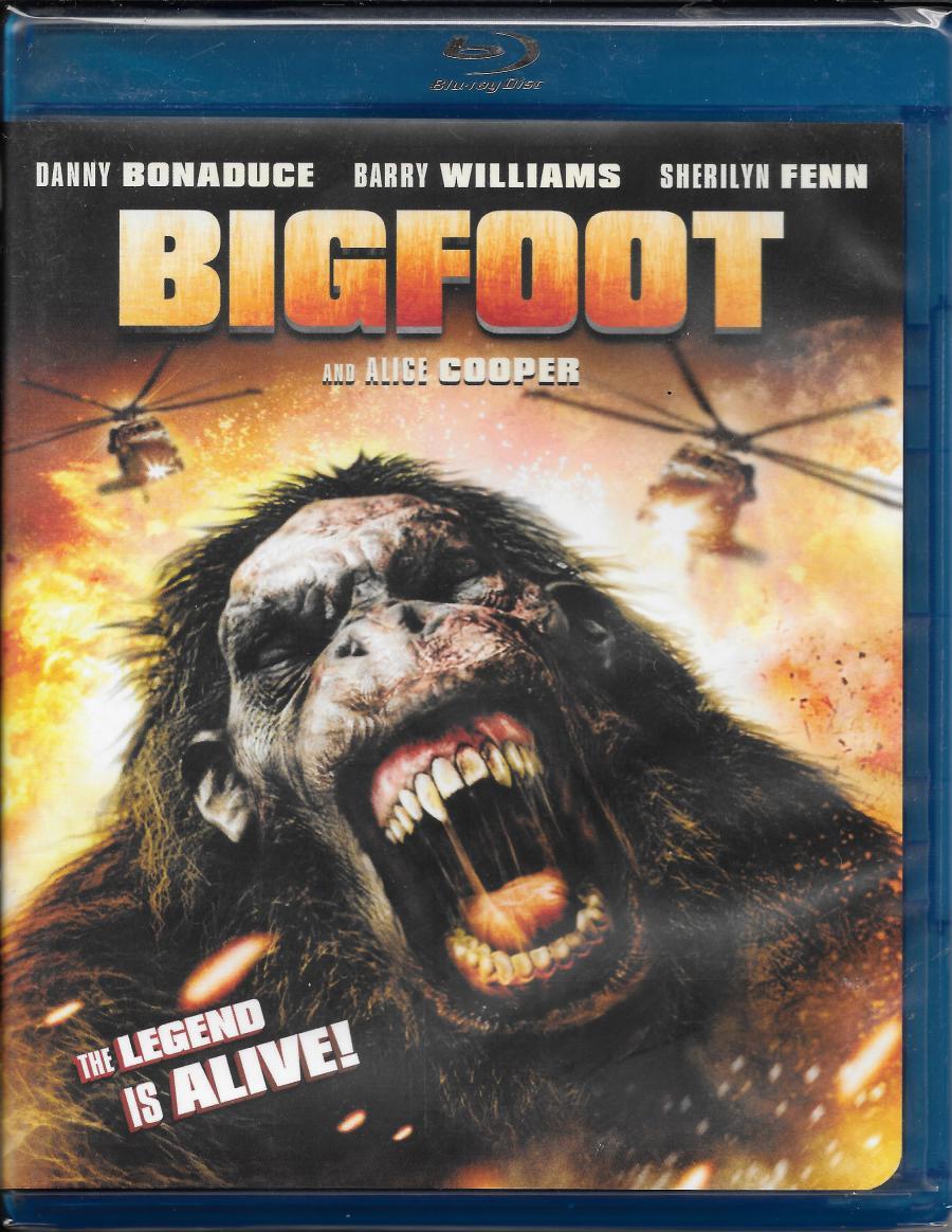 Bigfoot - dvd front