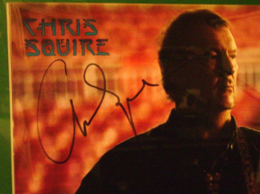 Chris Squire - In Person Autograph_The Ladder Tour