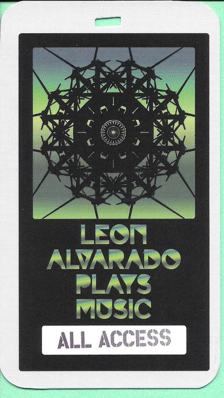 Leon Alvarado - 2014 Music From An Expanded Universe - promo AL