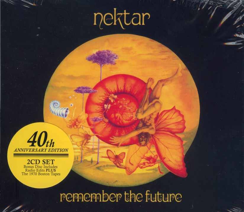 Nektar - 40th Remember The Future (2-disc) - cover with retail sticker