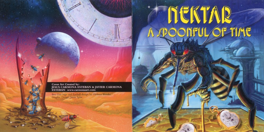 Nektar - A Spoonful Of Time - cover_booklet backing