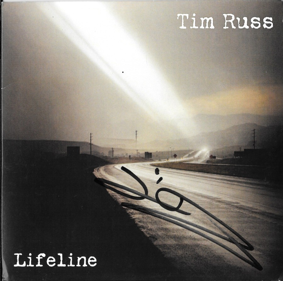 Tim Russ - Lifeline (signed 25 July 2015 at SCCC)
