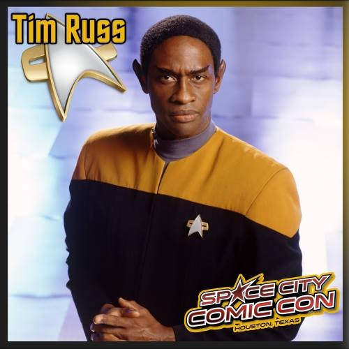 Tim Russ - Space City Comic Con - promo