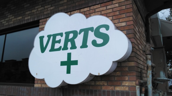 Verts - Front Sign (2017 02 07)
