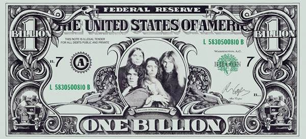 Alice Cooper - BDB - Audio Fidelity - Billion Dollar Bill (promo scan)