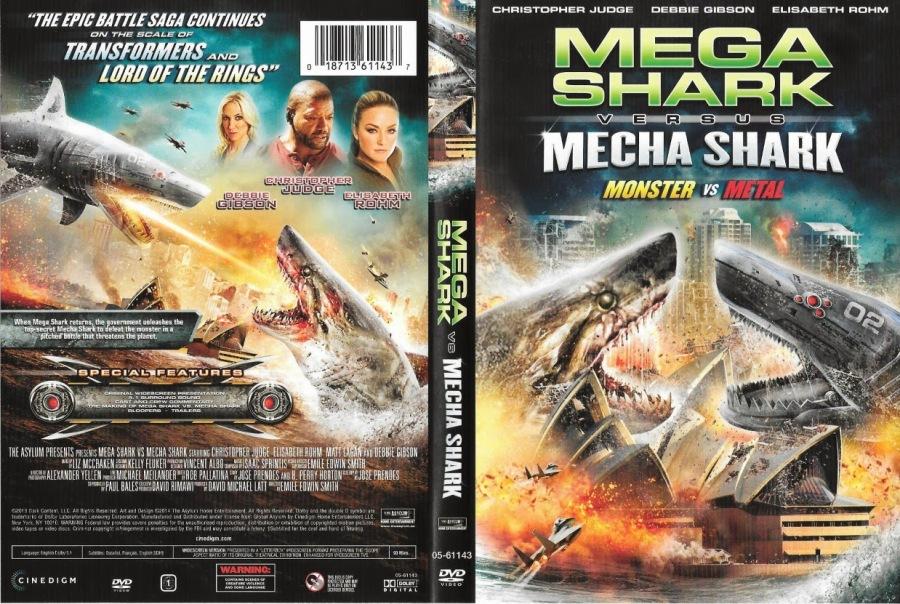 Mega Shark Versus Mecha Shark (The Asylum_2014)