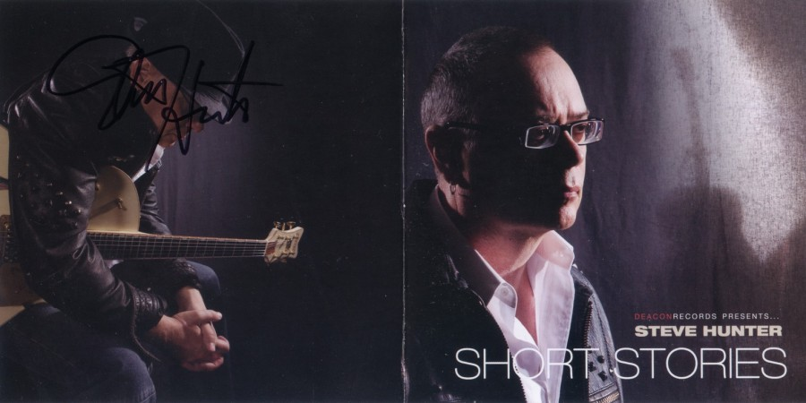 Steve Hunter - Short Stories - CD Cover (autographed)