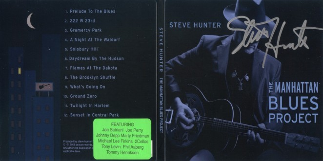 Steve Hunter - The Manhattan Blues Project - CD Wrap