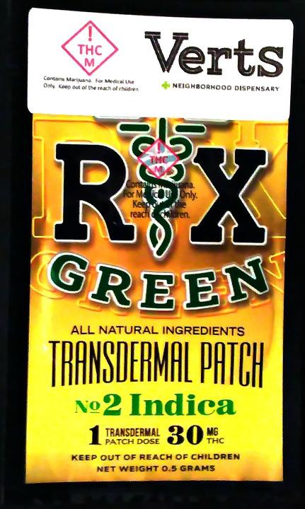 Verts - R X Green - Upright