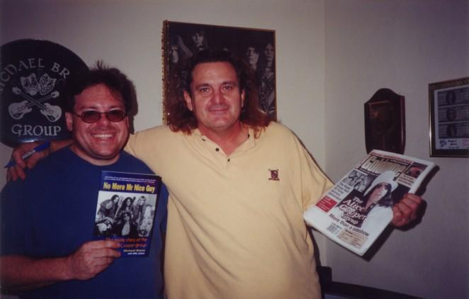 TOMBML - Contest Winner Richard Blatt_with Michael Bruce - 2