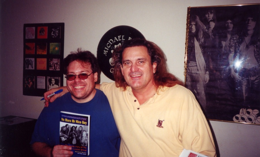 TOMBML - Contest Winner Richard Blatt_with Michael Bruce