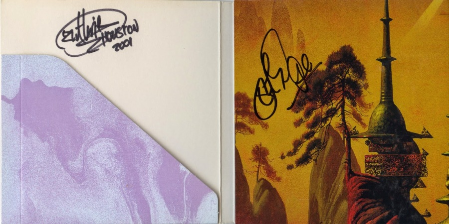 Asia - Aura - in person autographed - Guthrie Govan_John Payne