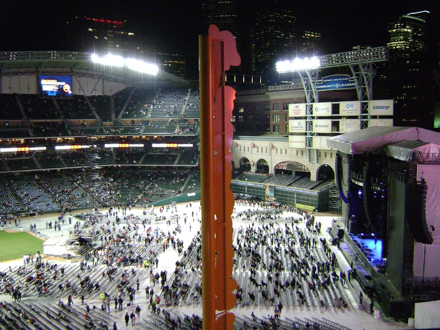 Paul McCartney - (14 Nov 2012) - Before Concert Inside Minute Maid Park