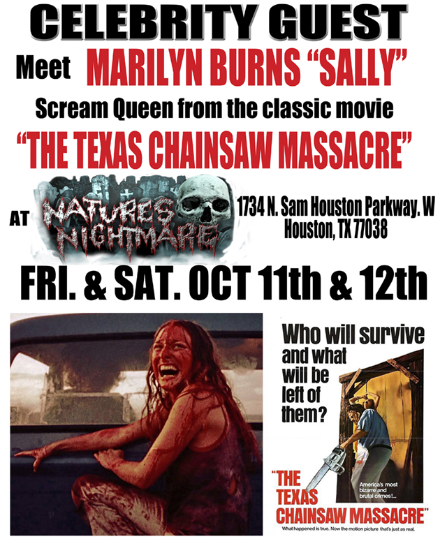 Marilyn Burns - Natures Nightmare - Poster
