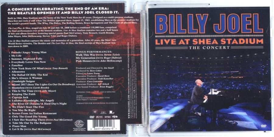Billy Joel - Live At Shea Stadium - cover