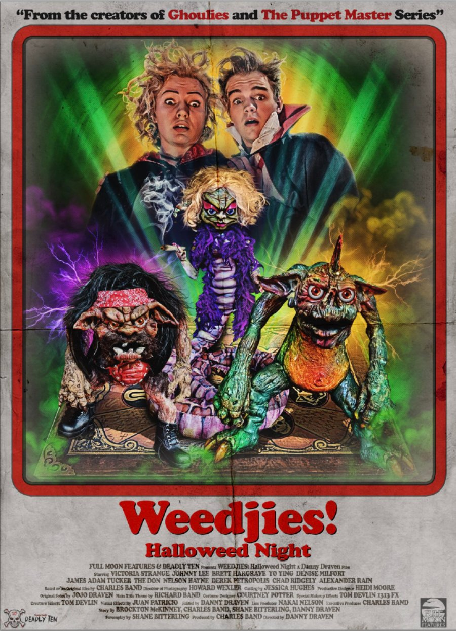 Weedjies - Happy Halloweed - poster - 02