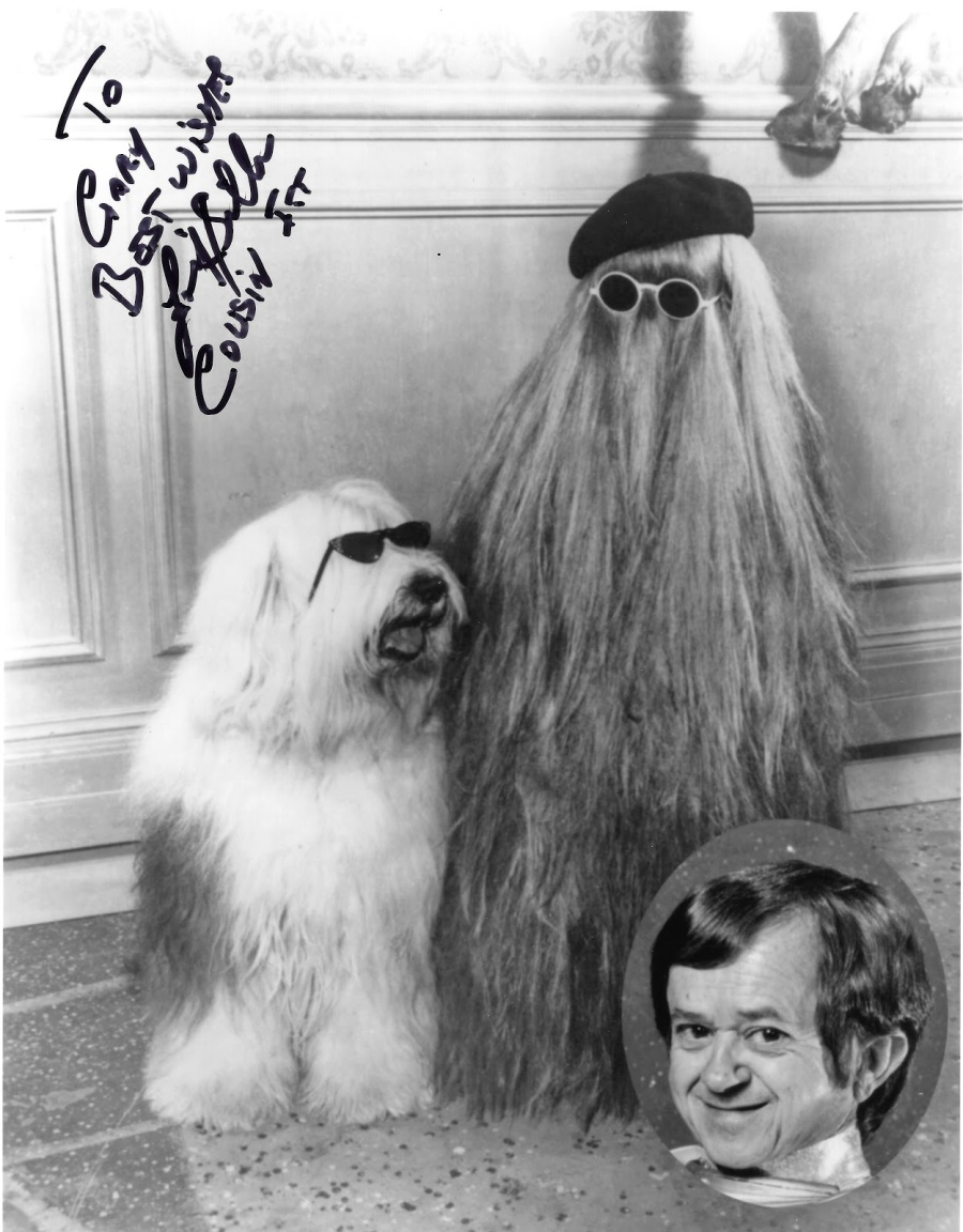 Felix Silla (Cousin Itt) - In Person Autograph (24 July 2015)