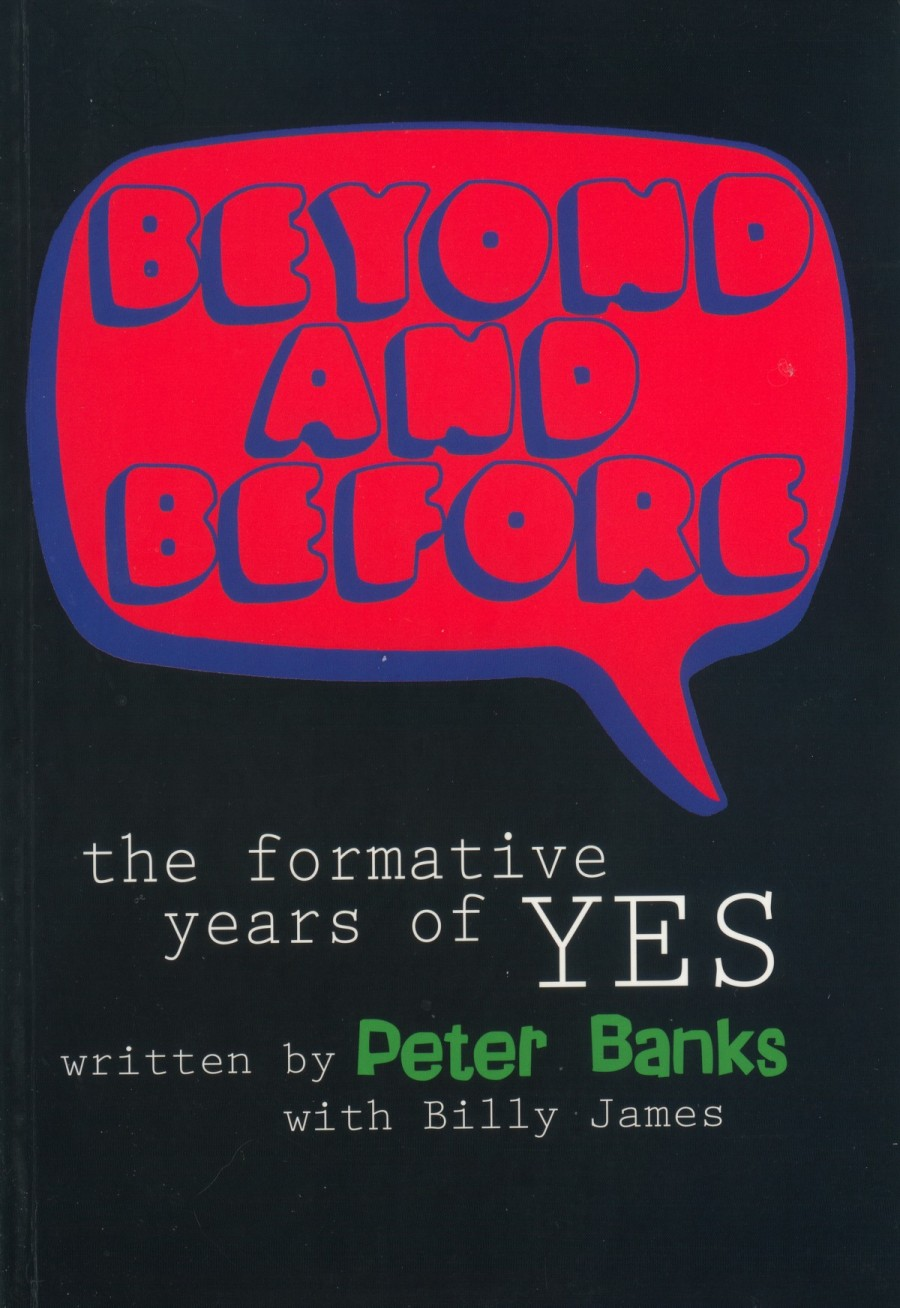 Beyond And Before Book - cover