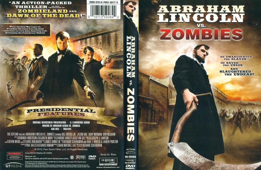 Abraham Lincoln Vs Zombies - DVD Wraparound