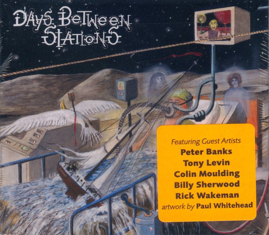 Days Between Stations - unopened front cover