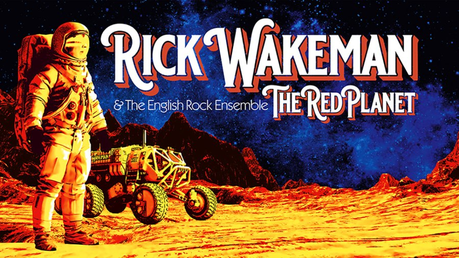Rick Wakeman - The Red Planet - banner